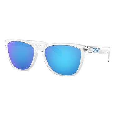 Oakley Frogskins Crystal Clear Glasses  Prizm Sapphire