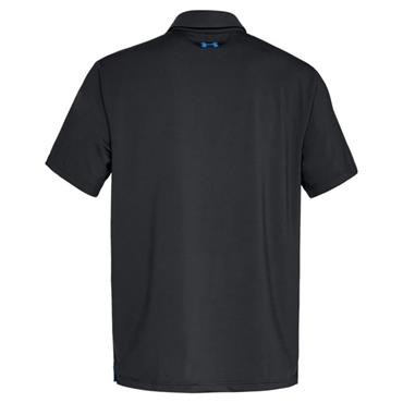 Under Armour Gents Playoff Polo Shirt Black - Blue