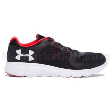 Under Armour Gents Thrill 2 Shoes Black - Red - White