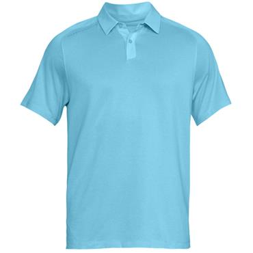 Under Armour Gents Threadborne Polo Shirt Blue (448)