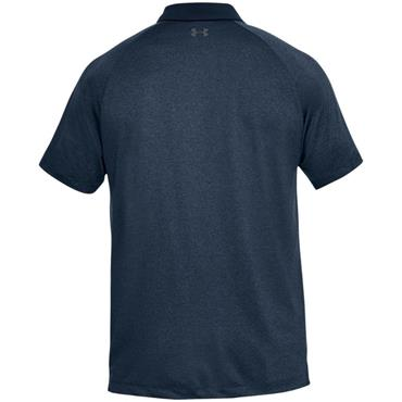 Under Armour Gents Threadborne Polo Shirt Navy (409)