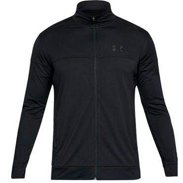 Under Armour Gents Sportstyle Pique Track Jacket Black