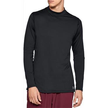 Under Armour Gents ColdGear Armour Fitted Mock Black