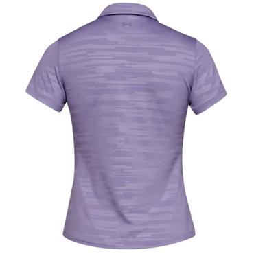 Under Armour Ladies Zinger Novelty Polo Shirt Purple