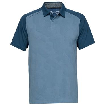 Under Armour Gents Microthread Champion Polo Shirt Blue