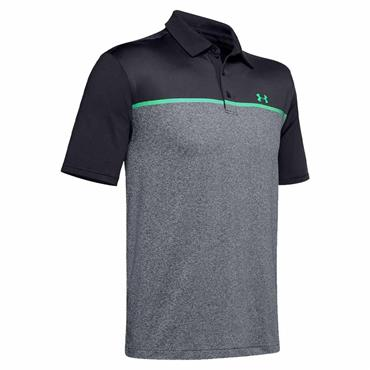 Under Armour Gents Playoff 2.0 Polo Shirt Black - Grey 017