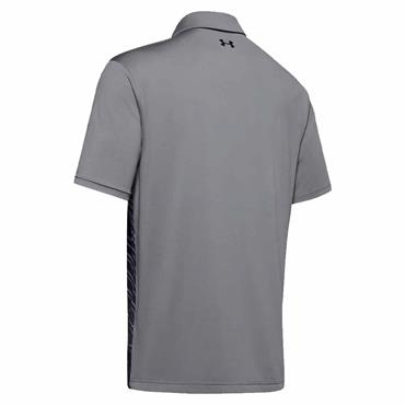 Under Armour Gents Playoff 2.0 Polo Shirt Steel - Black 039
