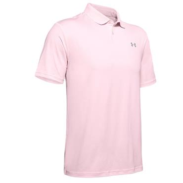Under Armour Gents Performance 2.0 Polo Shirt Peach