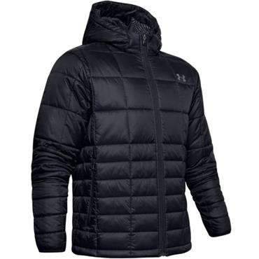 Under Armour Gents Insulated Hooded Jacket Black