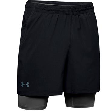 Under Armour Gents 2-in-1 Shorts Black