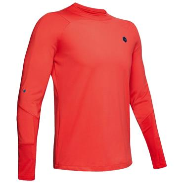 Under Armour Gents ColdGear®  Rush Mock Neck Red