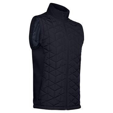 Under Armour Gents ColdGear® Reactor Golf Hybrid Vest Black