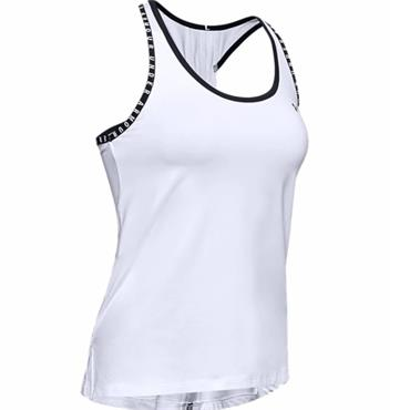 Under Armour Ladies Knockout Tank Top White 100