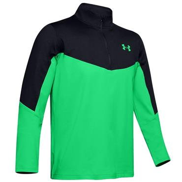 Under Armour Gents Storm Midlayer ½ Zip Green (002)