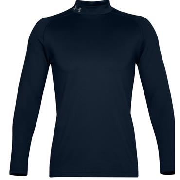 Under Armour Gents Long Sleeve Mock Neck Navy