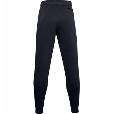 Under Armour Gents Rival Fleece Graphite Joggers Black