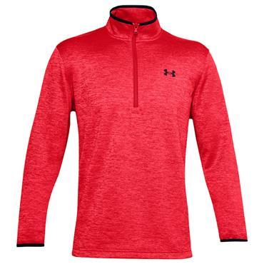 Under Armour Gents Armour Fleece ½ Zip Top Red