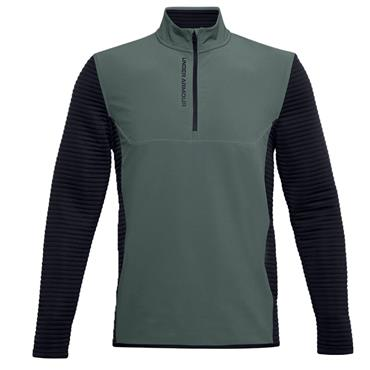 Under Armour Gents Storm Evolution Daytona ½ Zip Top Blue 424