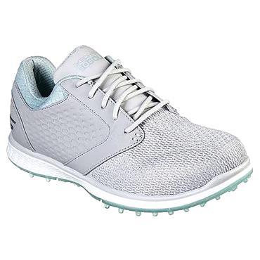 Skechers Ladies Elite 3 Grand Shoes Grey - Mint