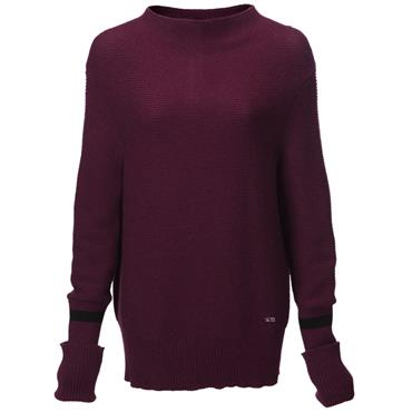 Swing Out Sister Ladies Tabitha Sweater Ribena - Black