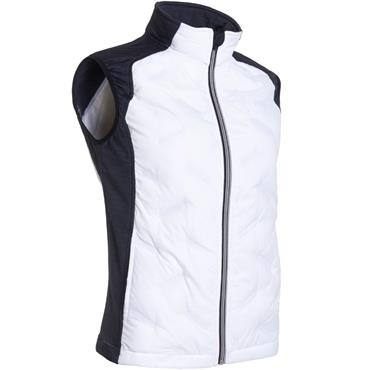 Abacus Ladies Dunes Hybrid Vest White