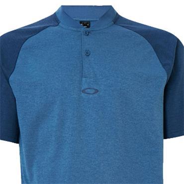 Oakley Gents Icon Bi Color Polo Shirt Interstellar Blue 6TR