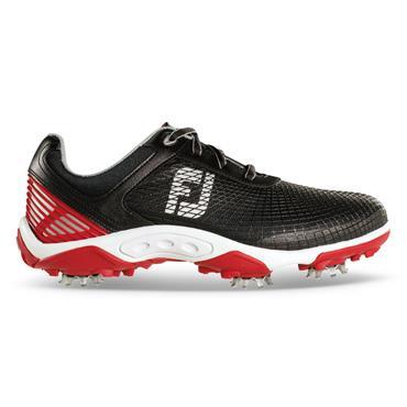 FootJoy Junior DNA Hyperflex Golf Shoes Black -Red