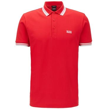 Hugo Boss Gents Paddy NOS Polo Red