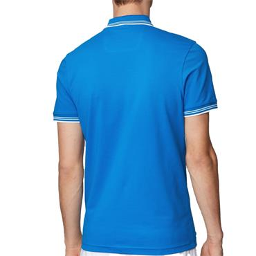 Hugo Boss Gents Paul Curved Polo Shirt Blue