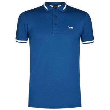 Hugo Boss Gents Paule Polo Shirt Blue
