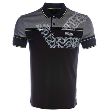 Hugo Boss Gents Paddy Pro 2 Polo Shirt Black