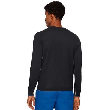 Hugo Boss Gents Riston Crew Sweater Navy (410)