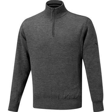 Mizuno Gents Windproof Lined Sweater Grey