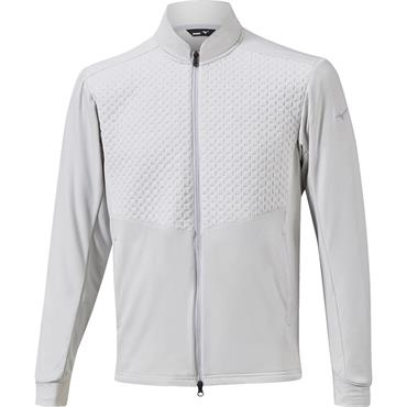 Mizuno Gents Move Warmer Hybrid Jacket Vapour Silver
