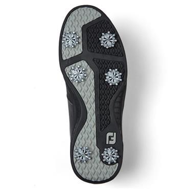FootJoy Gents Contour Shoes Wide-Fit Black - Charcoal