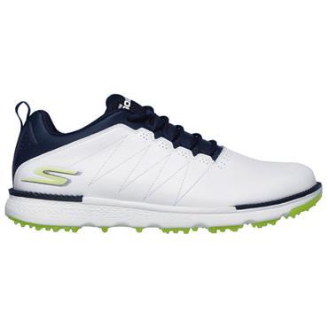 Skechers Gents Go Golf Elite V.3 Shoes White - Navy - Lime