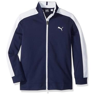 Puma Junior - Boys Heritage Track Jacket Peacoat