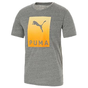 Puma Gents Aloha T-Shirt Grey - Heather