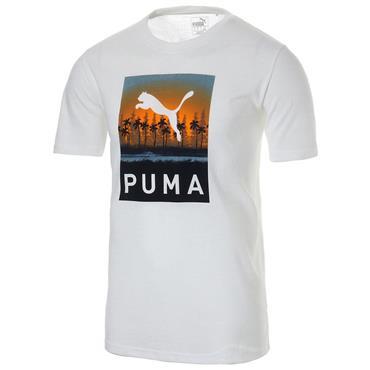 Puma Gents Aloha T-Shirt White