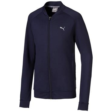Puma Junior - Boys Stealth Full Zip Jacket Peacoat
