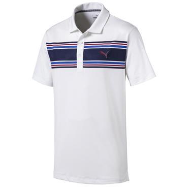 Puma Gents Montauk Polo Shirt Peacoat