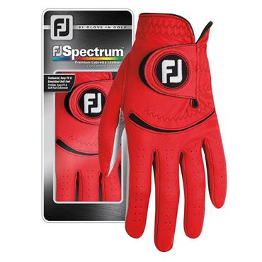 FootJoy Gents Spectrum Gloves Left Hand Red