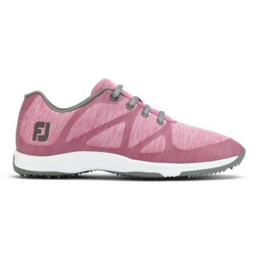 FootJoy Ladies Leisure Spikeless Shoes Wide-Fit Pink