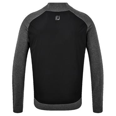 FootJoy Gents Wool Blend Tech Jacket Black - Grey