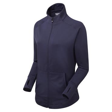 FootJoy Ladies Full Zip Brushed ChillOut Navy