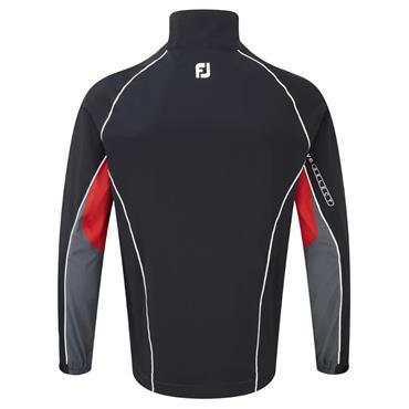 FootJoy Gents DryJoys Select Rain Jacket Black - Charcoal - Red -White
