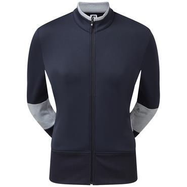 FootJoy Ladies Midlayer Double Jersey Pullover Navy