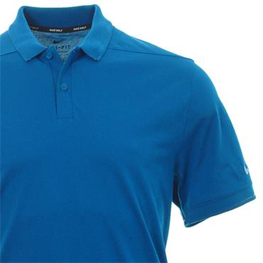 Nike Gents Dri-Fit Polo Shirt Blue