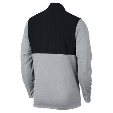 Nike Gents Dry ½ Zip Core Top Wolf Grey 012