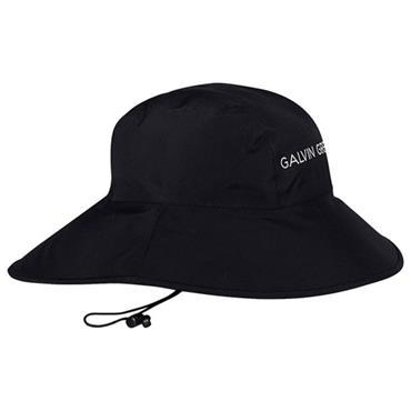 Galvin Green Gents Aqua GORE-TEX® Paclite® Waterproof Golf Hat Black